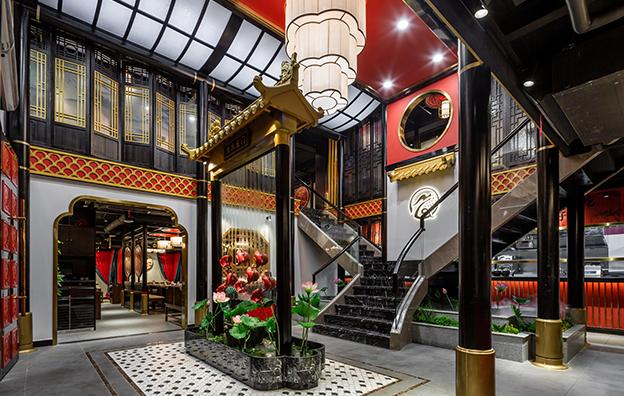 顺德东灶鱼头餐饮空间设计案例